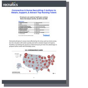 Coronavirus Nurse Recruiting eBook