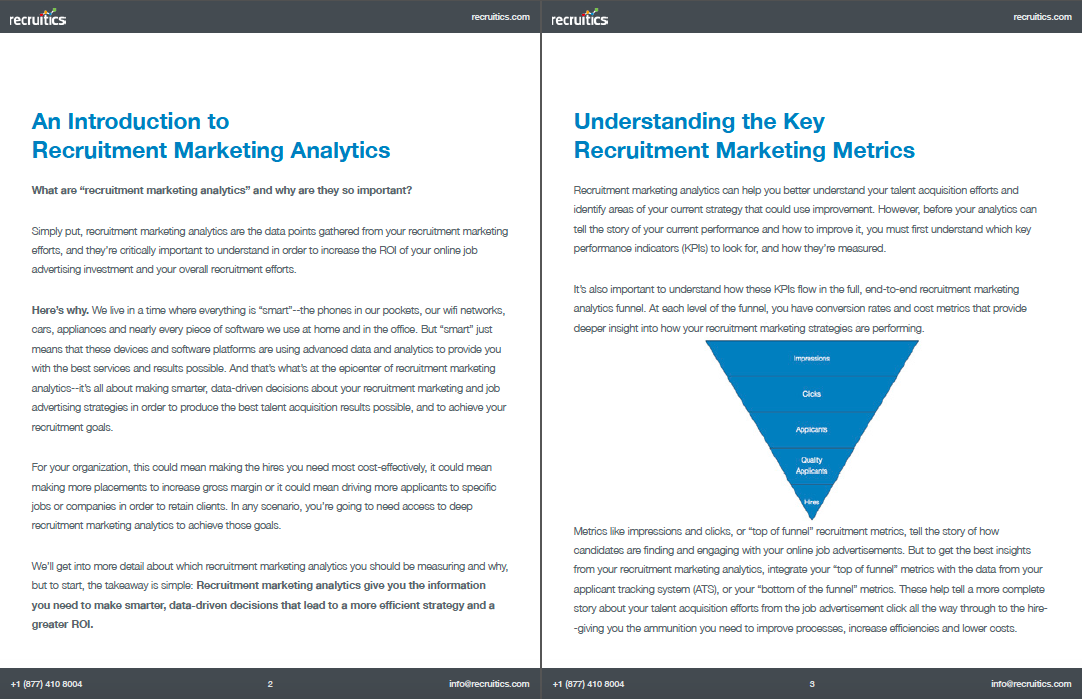 Guide to Recruitment Marketing Analytics Image