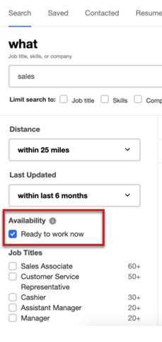 How to find #readytowork job seekers