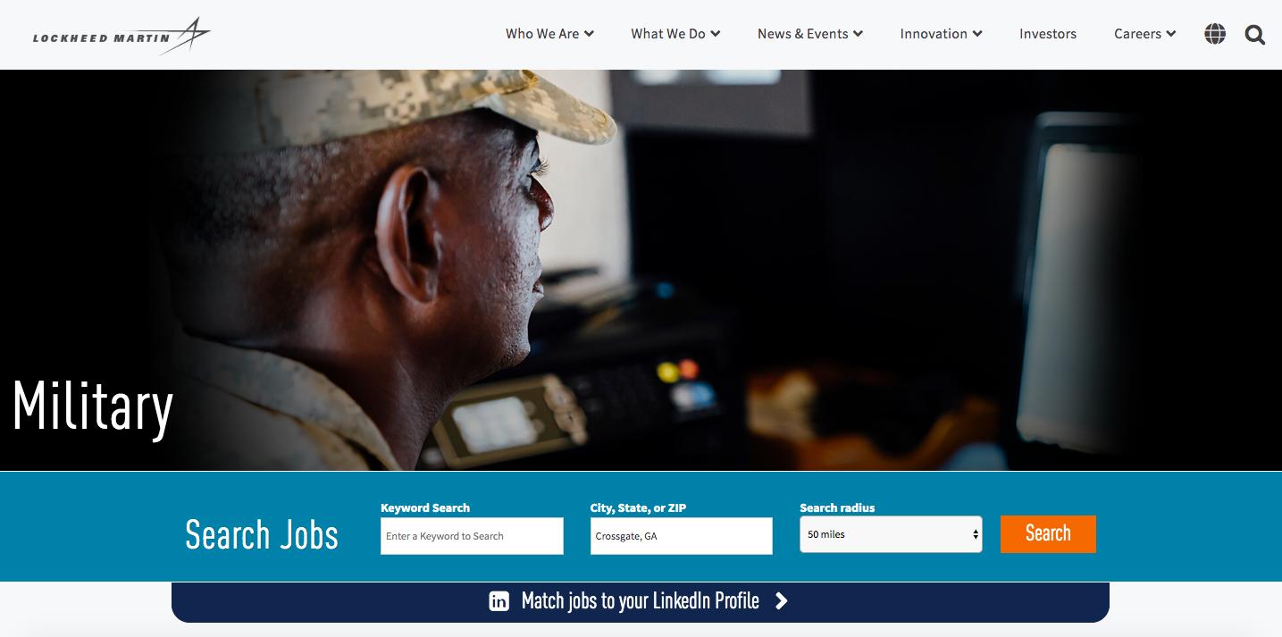 Lockheed Martin Careers Military Friendly Employer Veteran Recruiting
