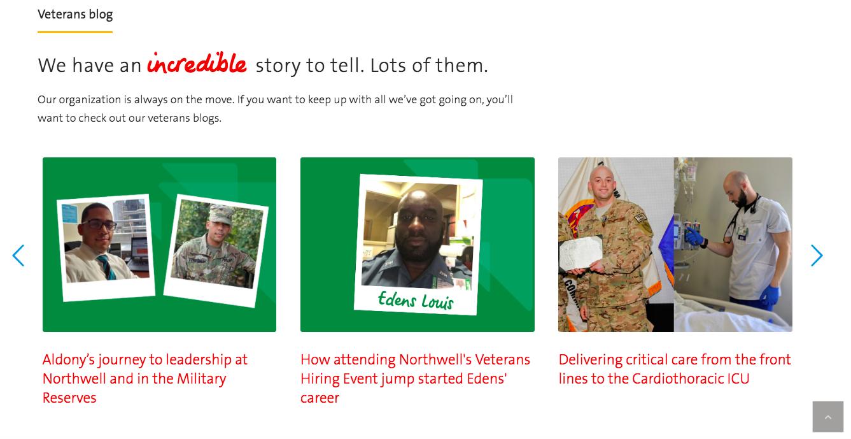 Northwell Careers Military Friendly Employer Veteran Recruiting