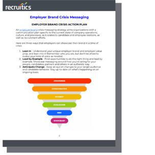 Employer Brand Crisis Messaging eBook Sample