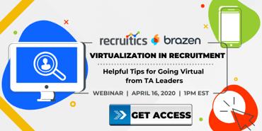 Virtual Recruiting Webinar Promo Graphics