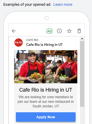 gmail ad recruitment marketing expanded ad