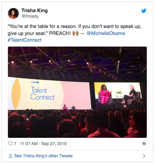 linkedin-talent-connect-2019-michelle-obama