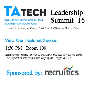 TATech Leadership Summit 16