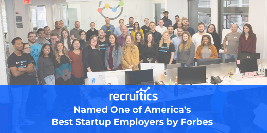 Best Startup Employer by Forbes