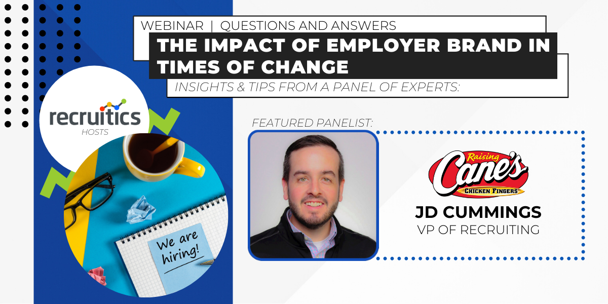 Employer Brand Questions Answered by JD Cummings of Raising Canes
